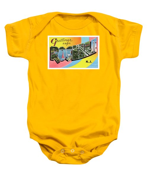 Roselle Greetings Baby Onesie