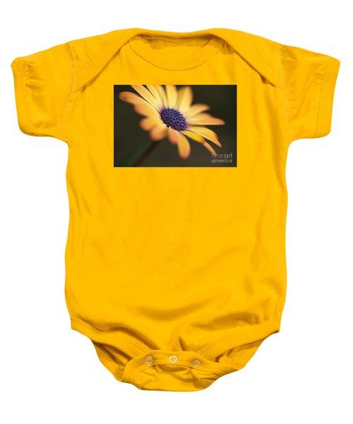 Simply Beautiful In Yellow To Orange  Baby Onesie