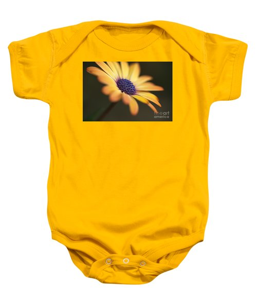 Simply Beautiful In Yellow To Orange  Baby Onesie