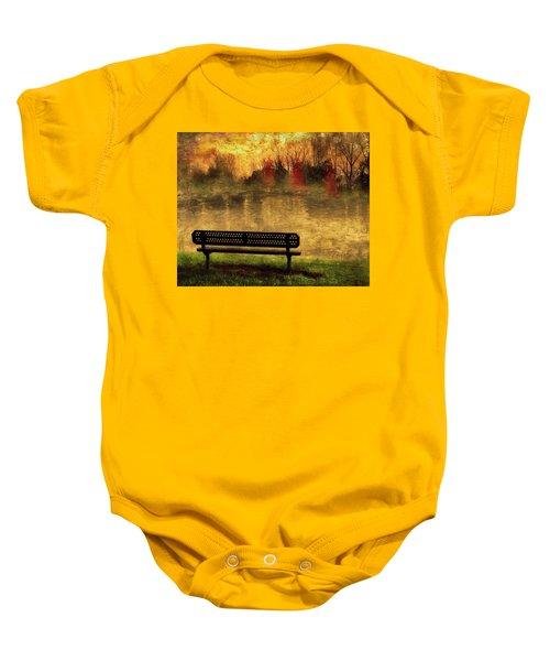 Sit And Admire Baby Onesie