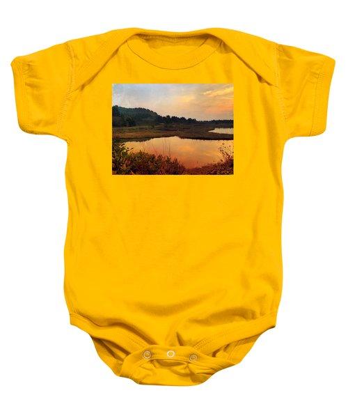 Sitka Sedge Sand Lake Eve Baby Onesie
