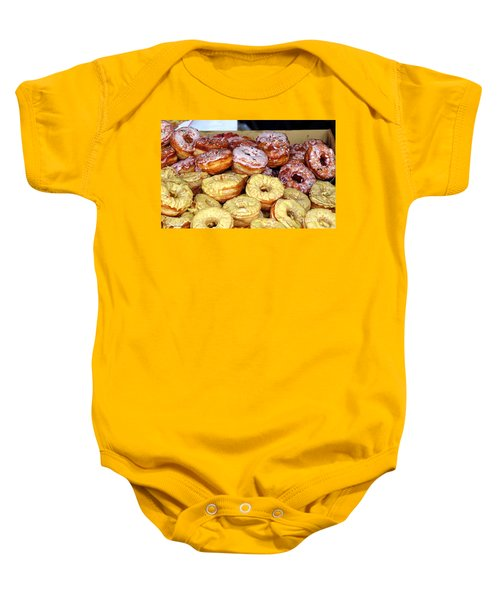 Sugar Frosted Donuts On Sale Baby Onesie