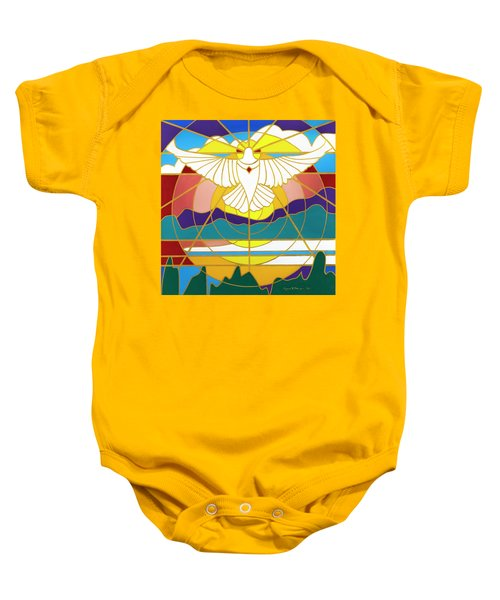 Sun Will Rise With Healing Baby Onesie