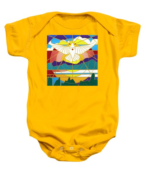 Sun Will Rise With Healing Baby Onesie