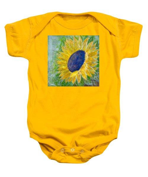 Sunflower Praises Baby Onesie