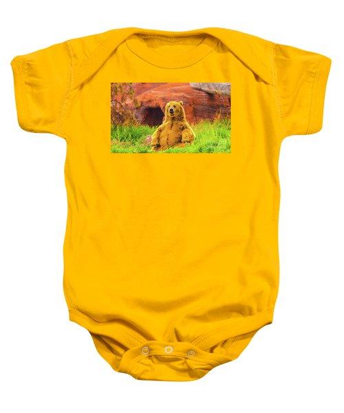 Teddy Bear Baby Onesie