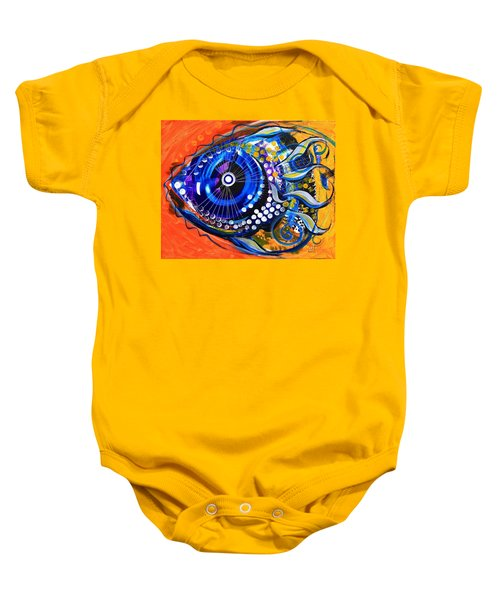 Tenured Acrimonious Fish Baby Onesie