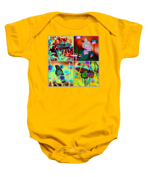 The Butterfly Collection 2 Baby Onesie