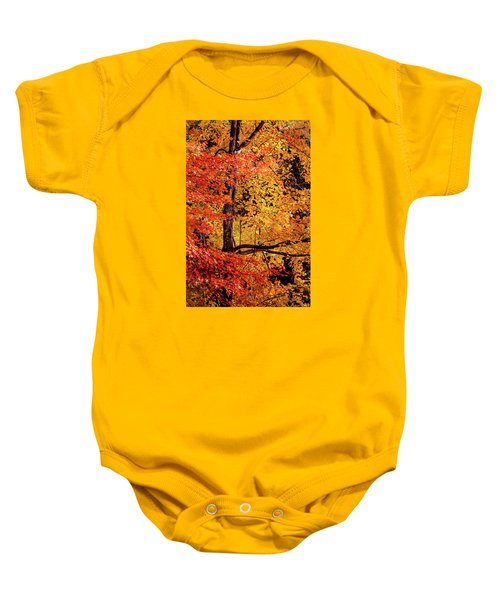 The Colors Of Fall Baby Onesie