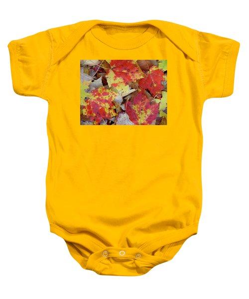 True Autumn Colors Baby Onesie