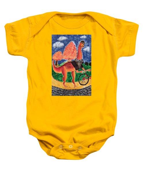 Veloci-saurus Baby Onesie
