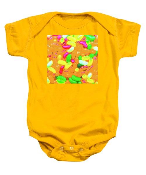Vibrant Jelly Beans Baby Onesie