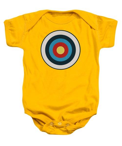 Vintage Target - Orange Baby Onesie