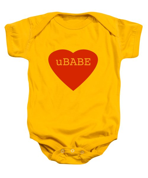 Warm Love Heart Baby Onesie