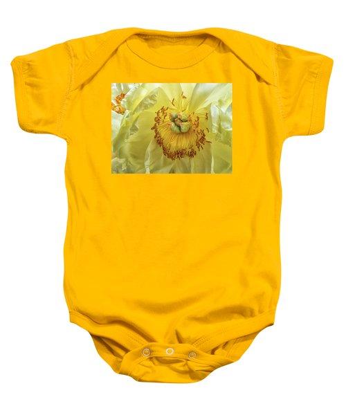 Yellow Light Baby Onesie