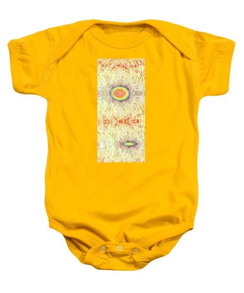 Yonic Rainbow Baby Onesie