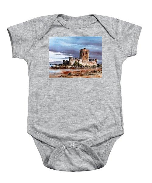 Doe Castle In Donegal Baby Onesie