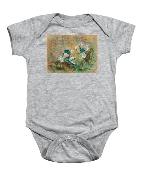 The Turquoise Incarnation Baby Onesie