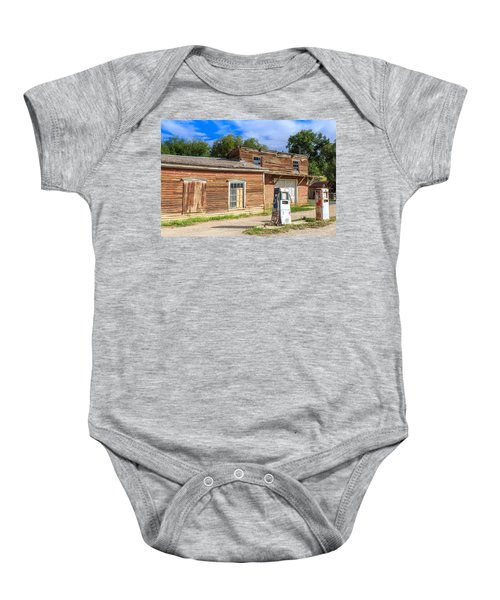 Abandoned Mining Buildings Baby Onesie