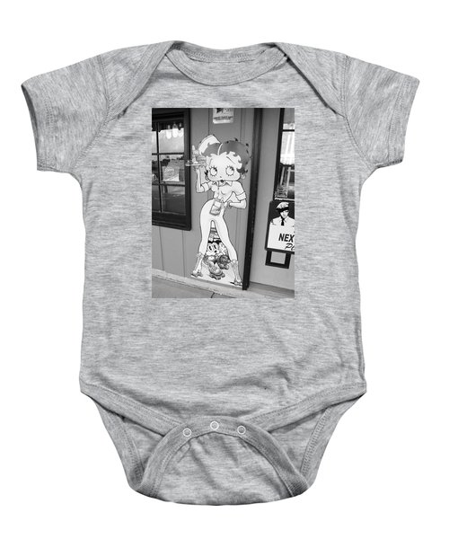 Baby Onesie featuring the photograph Betty Boop 3 by Frank Romeo
