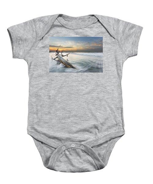Bough In Ocean Baby Onesie