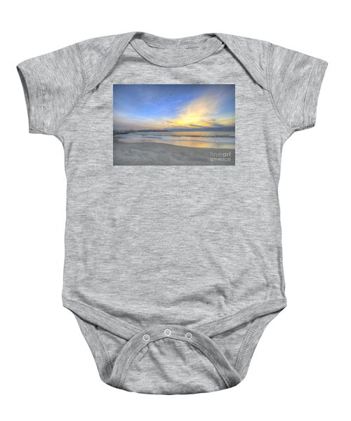 Breach Inlet Sunrise Baby Onesie