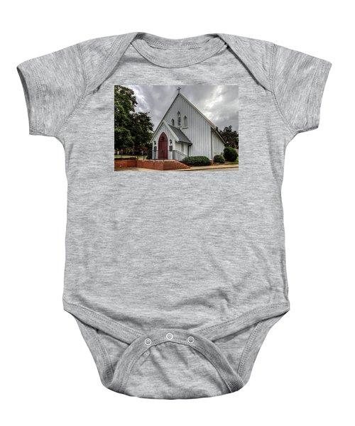 Chapel Of The Centurion Baby Onesie