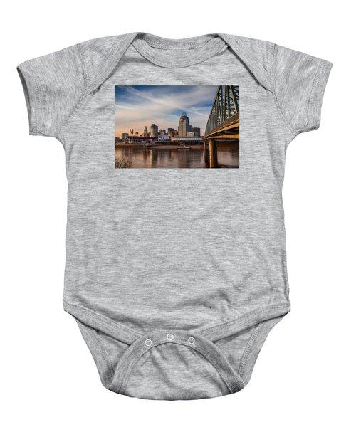 Cincinnati Baby Onesie