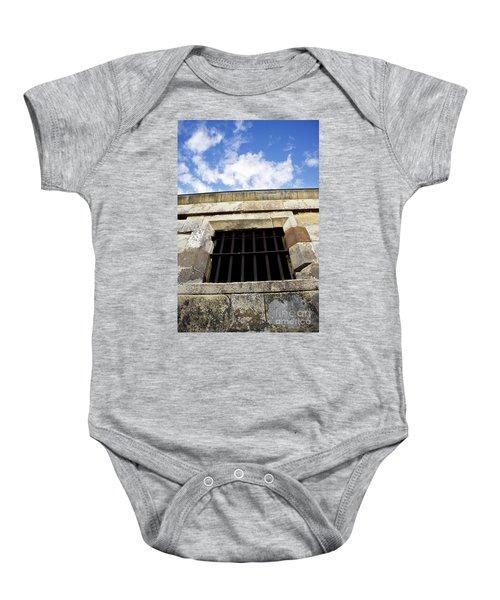 Convict Cell Baby Onesie