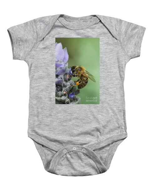 Happy Bee Baby Onesie