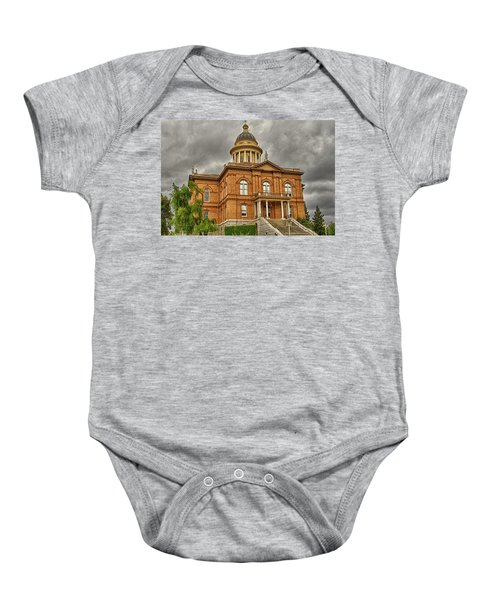 Historic Placer County Courthouse Baby Onesie