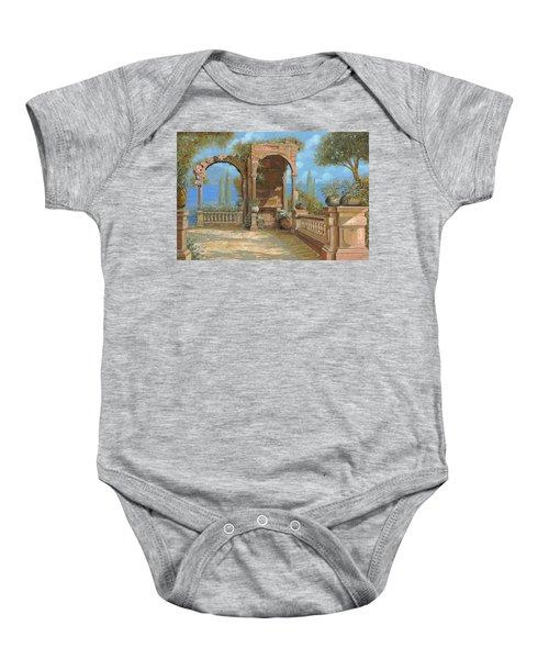 La Terrazza Sul Lago Baby Onesie