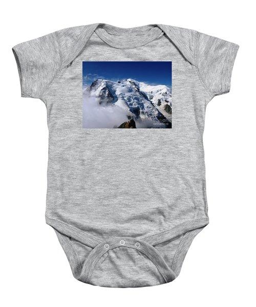 Mont Blanc - France Baby Onesie