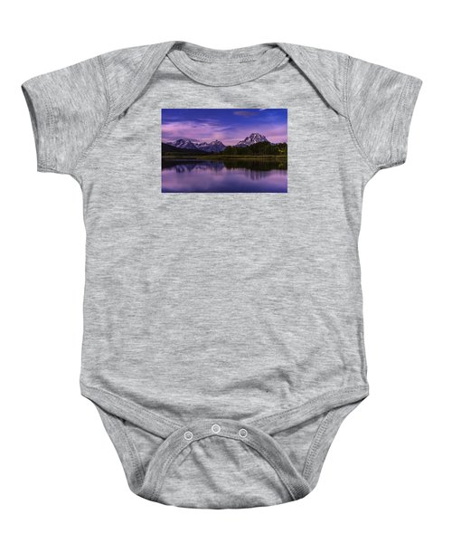 Moonlight Bend Baby Onesie by Chad Dutson