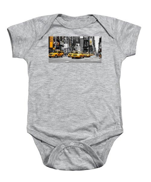Nyc Yellow Cabs - Ck Baby Onesie