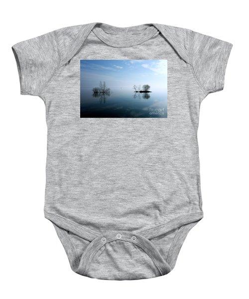 On The Horizon Baby Onesie