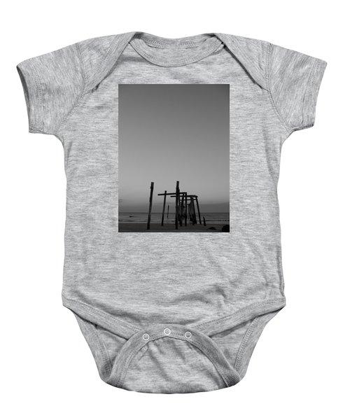 Pier Portrait Baby Onesie