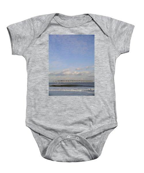 Pier Wave Baby Onesie