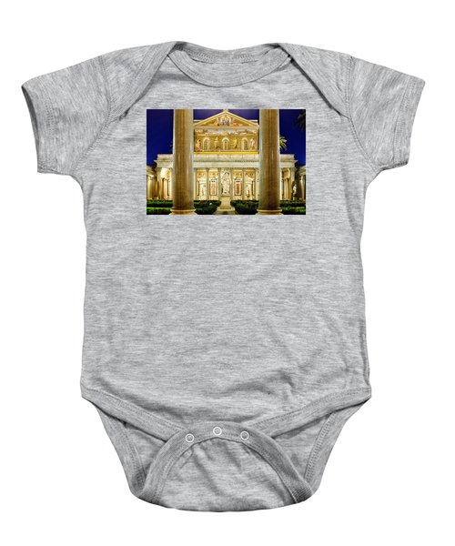 San Paolo Fuori Le Mura Baby Onesie