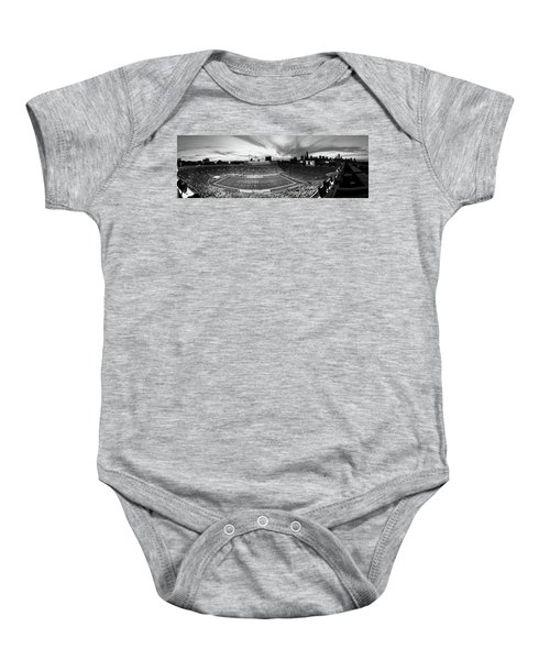 Soldier Field Football, Chicago Baby Onesie by Panoramic Images