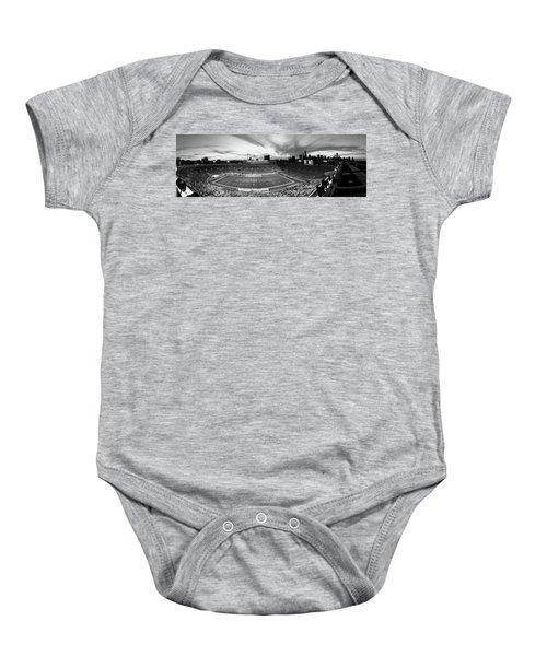 Soldier Field Football, Chicago Baby Onesie