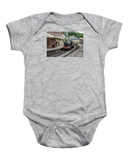 Steam Train Baby Onesie