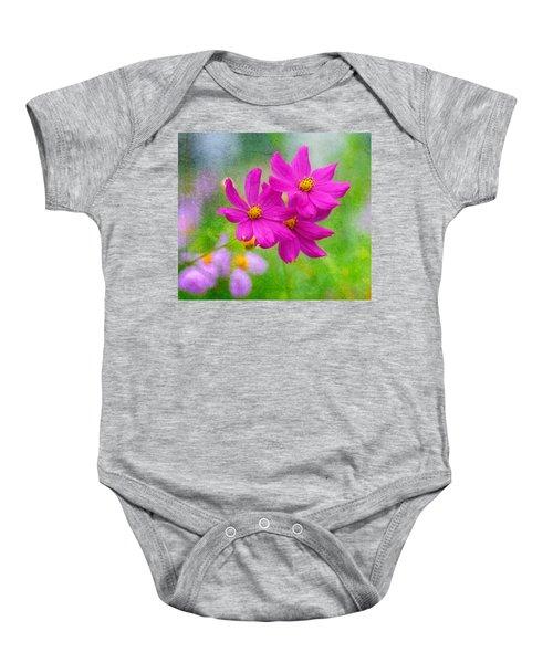 Summer Garden Baby Onesie