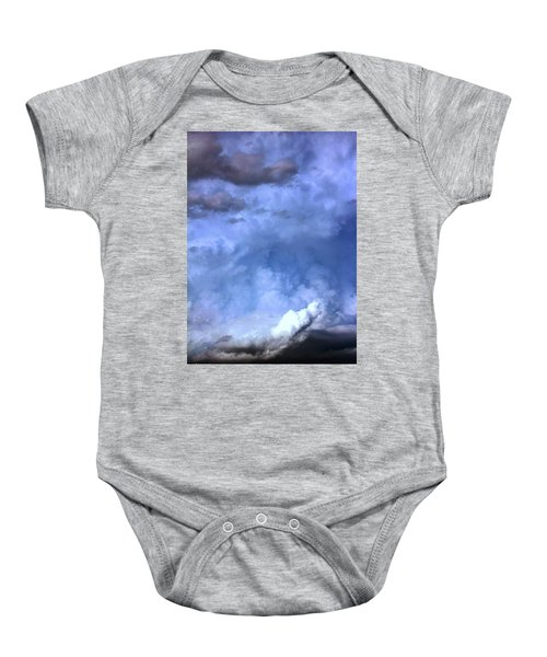 There Be A Storm A Brewin In Nebraska Baby Onesie
