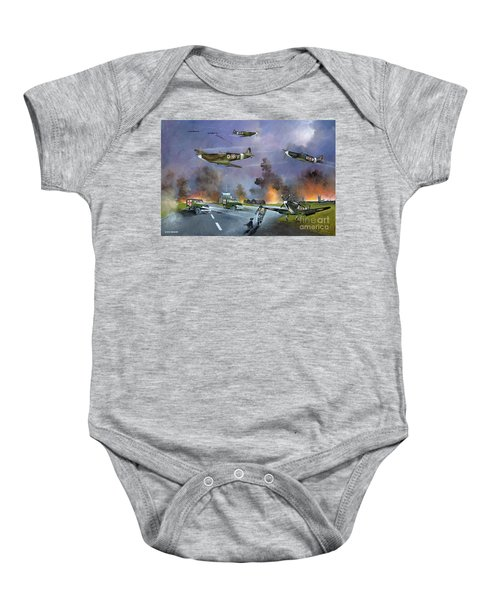 Up For The Chase Baby Onesie