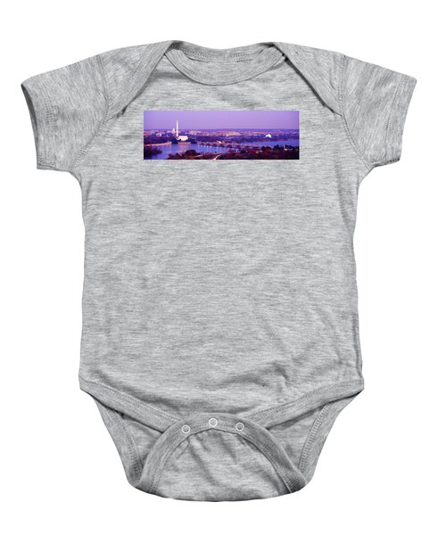 Washington Dc Baby Onesie by Panoramic Images