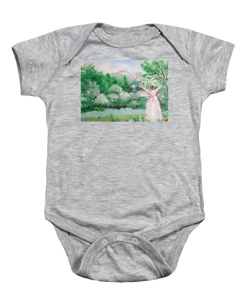 Welcome Home Love Baby Onesie