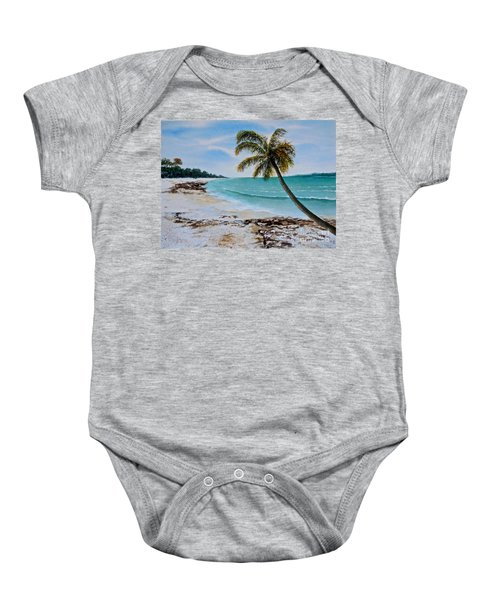 West Of Zanzibar Baby Onesie
