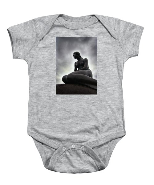 Woman Standing Strong Baby Onesie