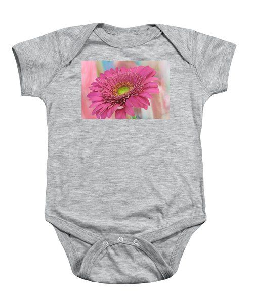 Gerbera Daisy Macro Baby Onesie